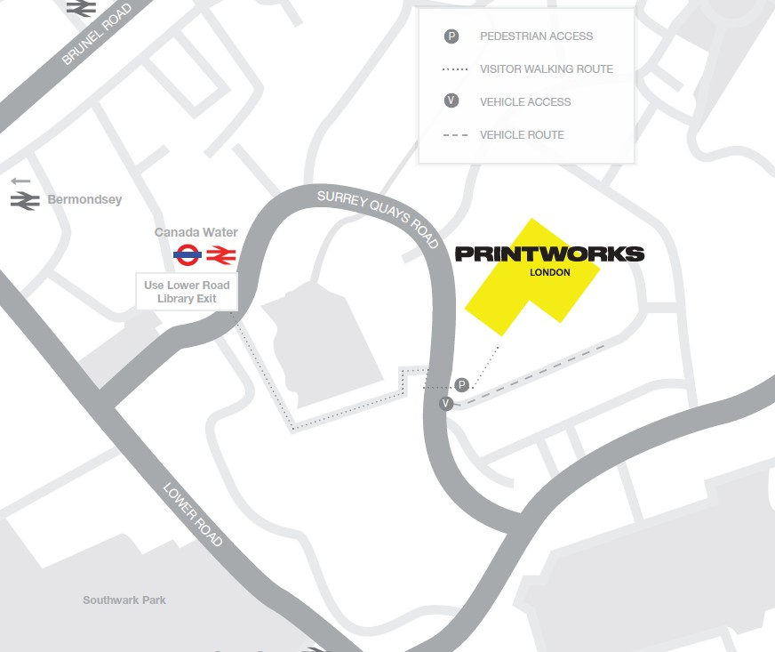 printworks map